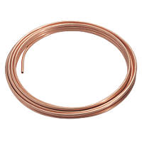 Wednesbury Wednesbury Microbore Copper Pipe Coil 8mm x 10m