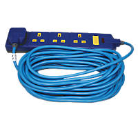 Masterplug  13A 4-Gang  Extension Lead 10m