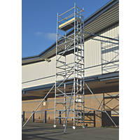 Lyte Helix Single Depth Aluminium Industrial Tower 7.2m