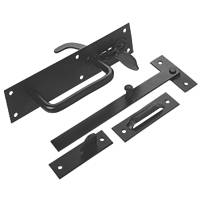 Smith & Locke Gate Latch Black 178mm