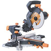 Evolution R210SMS 210mm  Electric Single-Bevel Sliding Multi material Sliding Mitre Saw 110V