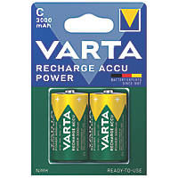 Varta Ready2Use Rechargeable Batteries C Pack of 2
