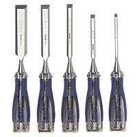 Irwin  Bevel Edge Wood Chisel Set 5 Pieces