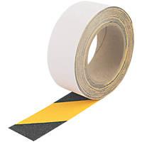 Everbuild Anti-Slip Tape Black/Yellow 50mm x 10m