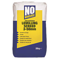 No Nonsense  Cement-Based Levelling Screed 20kg