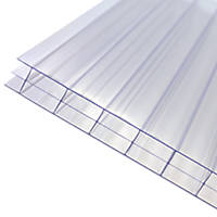 Axiome Triplewall Polycarbonate Sheet Clear 690 x 16 x 4000mm