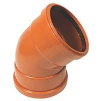 FloPlast Double Socket Bend 45° 160mm