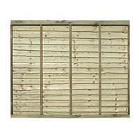 Grange Pro Lap Fence Panels 1.83 x 1.5m 5 Pack