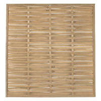 Forest WFP18PK5HD Woven  Fence Panel 6 x 6' Pack of 5