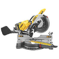 DeWalt DHS780T2-GB 305mm 54V 6.0Ah Li-Ion XR FlexVolt Brushless Cordless Double-Bevel Sliding Compound Mitre Saw