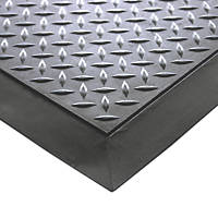 COBA Europe Comfort-Lok Anti-Fatigue Floor Mat Black 0.8 x 0.7m