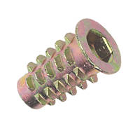 Insert Nuts Type D M6 x 20mm 50 Pack