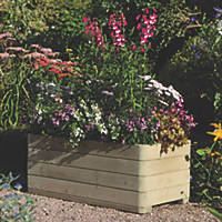 Rowlinson Rectangular Patio Planters  1000 x 500 x 390mm 2 Pack