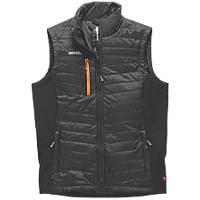 "Scruffs Trade Body Warmer Black XX Large 48"" Chest"
