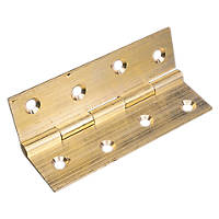 Self-Colour Butt Hinge 38 x 22mm 2 Pack