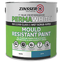 Zinsser Self-Priming Paint Satin White 2.5Ltr