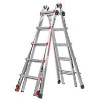 Little Giant Velocity 4-Section Aluminium Multi-Purpose Ladder  5.69m