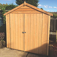 Shire  6' x 4' (Nominal) Apex Overlap Timber Shed