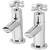 Seaford Bath Pillar Taps