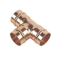 Flomasta   Solder Ring Equal Tee 22mm