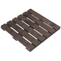 Grange Wooden Decking Tiles 30mm x 0.4 x 0.4m 4 Pack