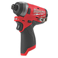 Milwaukee M12 FID-0 FUEL 12V Li-Ion RedLithium Brushless Cordless Impact Driver - Bare