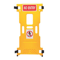 Addgards Supergard Single Add-on Barrier Yellow