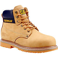 CAT Powerplant S3   Safety Boots Honey Size 8