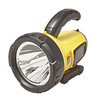 Diall T7-3 Rechargable LED Spotlight Torch Integrated Li-Ion