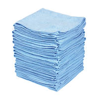 Microfibre Cloth Blue 380 x 380mm 50 Pack