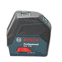 Bosch GCL 2-50 Red Self-Levelling Cross-Line Line Laser With Receiver