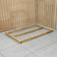 Forest Shed Base Self-Assembly 5' x 3'