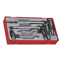 Teng Tools TTTX7 TX T-Handle TX Key Set 7 Pieces