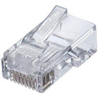 Ideal Industries RJ45 Feed-Thru Cat 5e Modular Plugs 25 Pack