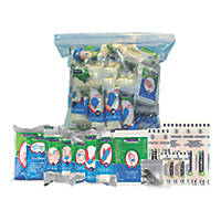 Wallace Cameron 1036201 50 Person HSE Catering First Aid Kit Refill