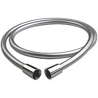 Triton  Shower Anti-Twist Hose Chrome 6mm x 1.5m