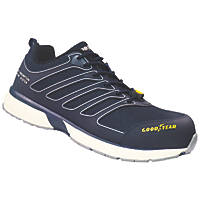 Goodyear GYSHU1592 Metal Free  Safety Trainers Blue Size 10