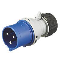 MK 32A 2P+E Site Service Plug 200-250V