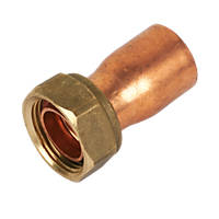 Endex Copper End Feed Straight Tap Connector 22mm x ¾""