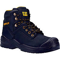 CAT Striver Mid S3   Safety Boots Black Size 10