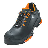 Uvex 6502 Metal Free  Safety Shoes Black Size 9