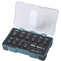 Erbauer Hex Nut & Socket Driver Bit Set 12 Pieces