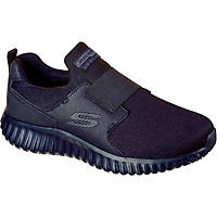 Skechers Cicades Metal Free  Non Safety Shoes Black Size 9
