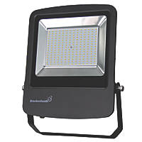 Brackenheath Rex LED Industrial Floodlight 150W Black Cool White