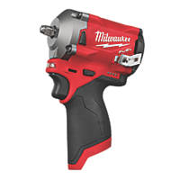 Milwaukee M12 FIW38-0 12V Li-Ion RedLithium Brushless Cordless Impact Wrench  - Bare