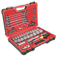 "Stanley FatMax ½"" Socket & Wrench Set 50 Pieces"