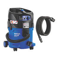 Nilfisk ATTIX 30-2M 1000W 30Ltr Wet & Dry Vacuum Dust Extractor 110V