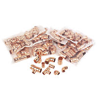 Solder Ring Fittings Pack 125 Piece Set
