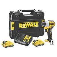 DeWalt DCF801D2-GB 12V 2.0Ah Li-Ion XR Brushless Cordless Impact Driver