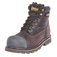 DeWalt Houston   Safety Boots Brown Size 8